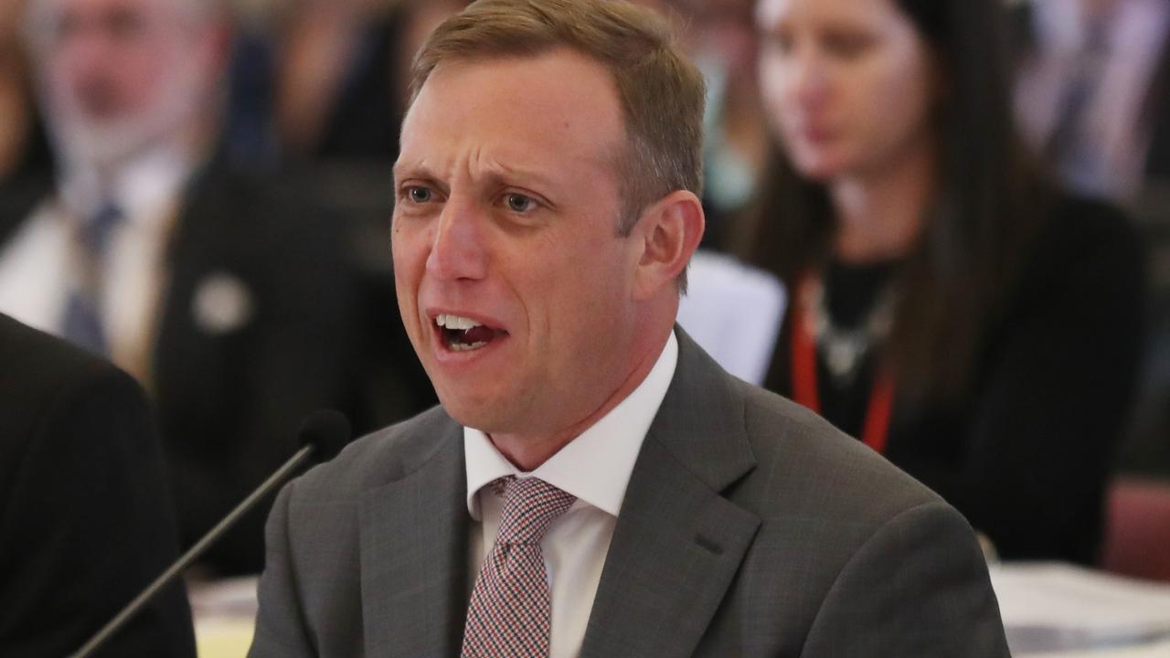 Steven Miles at Parliament
