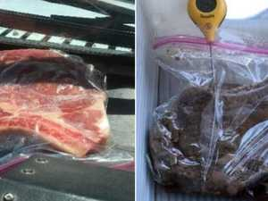 Postie grills steak in 'hellish' hot truck