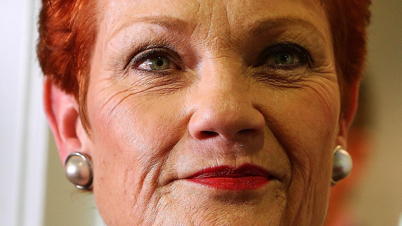 Senator Pauline Hanson, leader of NRA Down Under