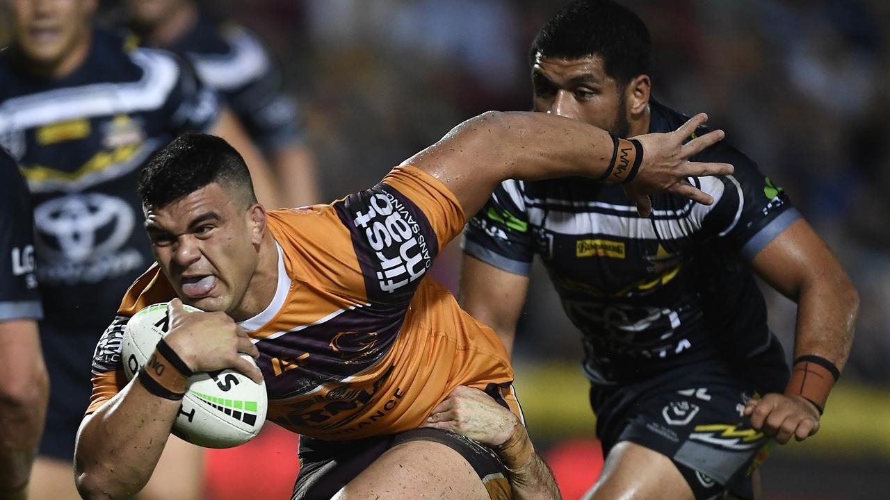 David Fifita had another strong game. Picture: Ian Hitchcock/Getty