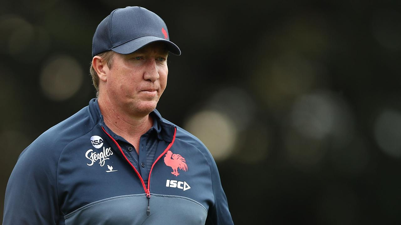 Trent Robinson has already won two grand finals with the Roosters. Picture: Getty Images