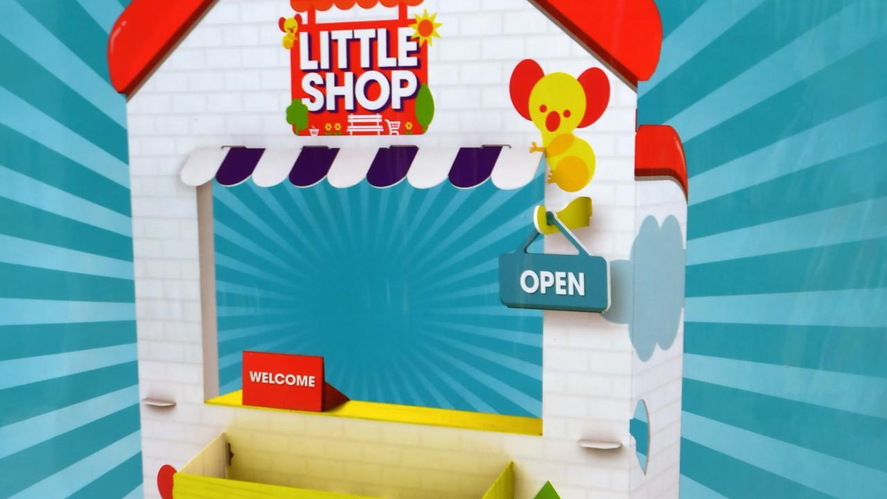 Coles' Little Shop 2 includes a cardboard shop.