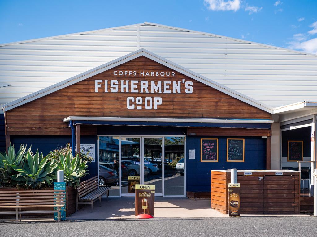 The new look Coffs Harbour Fishermen's Co-Op.