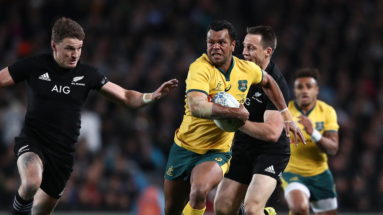 Kurtley Beale has the All Blacks on alert. (Photo by Hannah Peters/Getty Images)