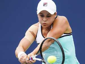 Barty not in panic mode despite No 1 blow