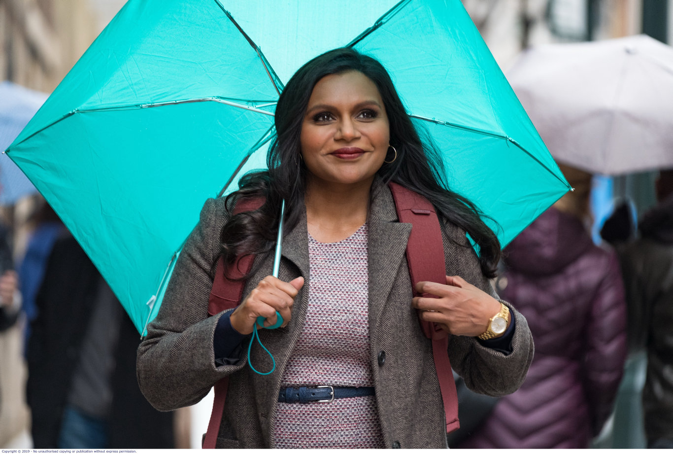 Mindy Kaling wrote and stars in the movie Late Night.