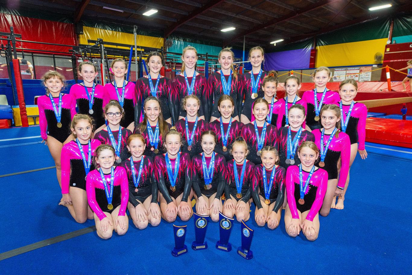 Coffs Coast Gymnastics excel at Country Titles | Coffs Coast Advocate