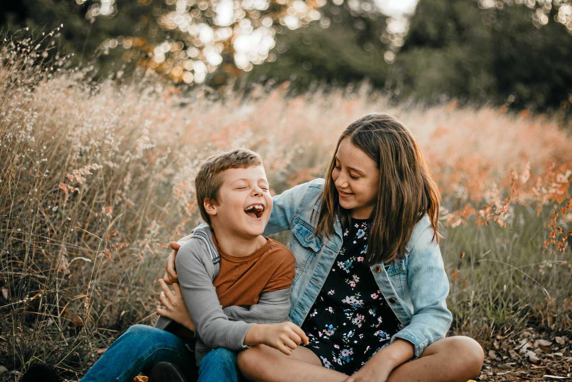 Kristy Champney's daughter Madi Jesberg and her nephew Parker Prain.