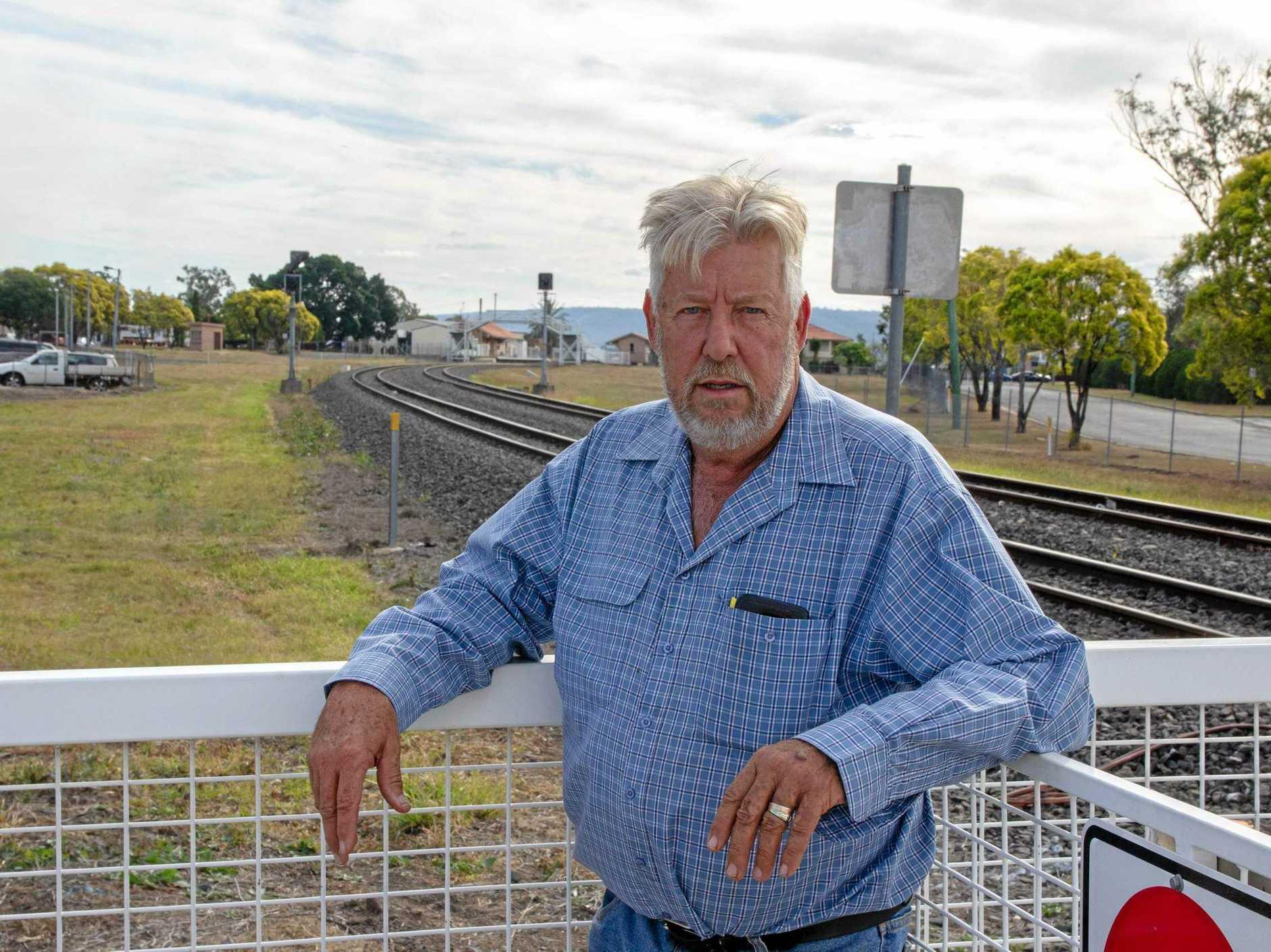 Former member for Lockyer Ian Rickuss