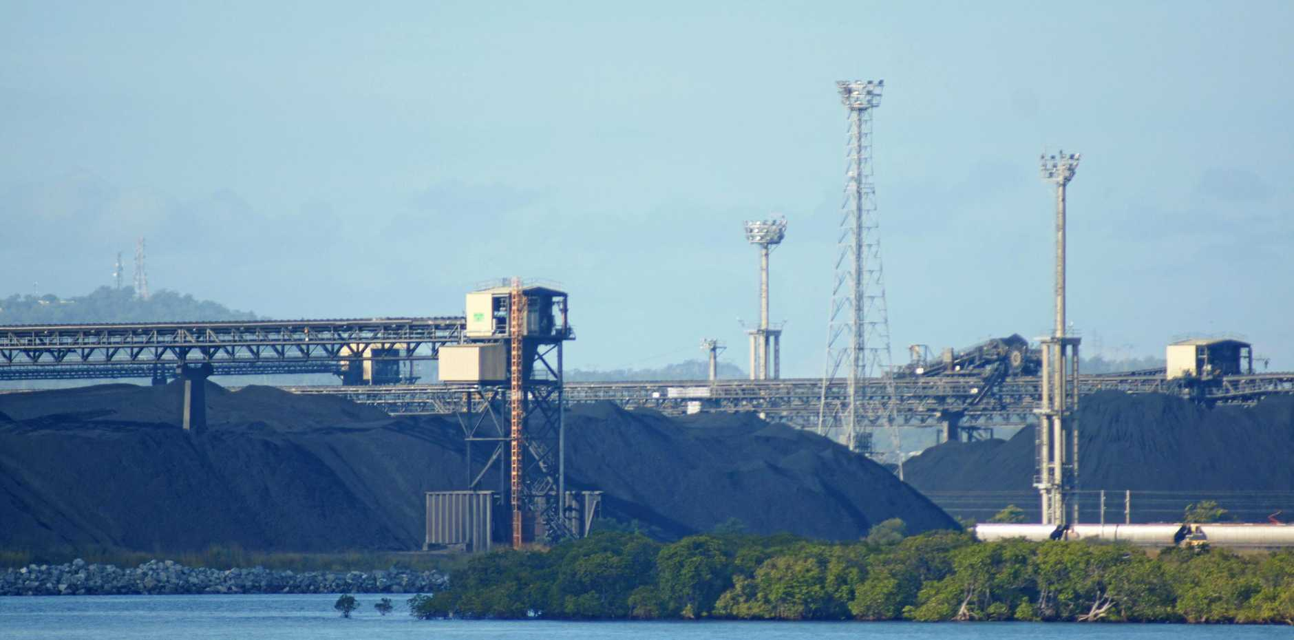 NEW ERA: The RG Tanna Coal Terminal was involved in a trial using blockchain technology initiated by Australian company CommChain.