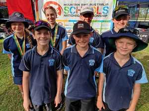 Kingaroy mountain bike riders take on the nation's best