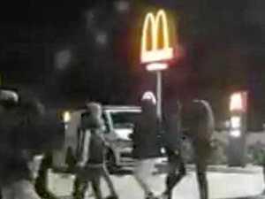 Mum, kids flee 100-man brawl near Ipswich shopping centre