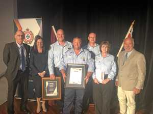 The Caves Rural Fire Brigade recognised for bravery