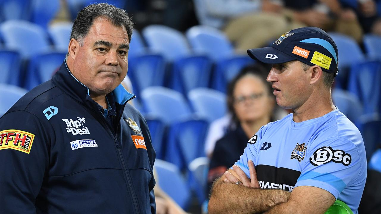 Meninga defended his decision not to take over the coaching role. Picture: Dave Hunt