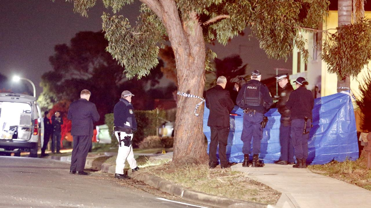Police rushed to the St Clair home after being called and found a gruesome scene. Picture: Steve Tyson/TNV