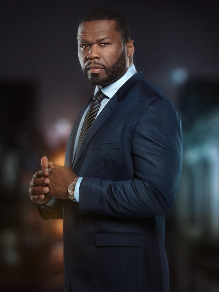 Rapper 50 Cent. Picture: Suzanne Delawar Studios