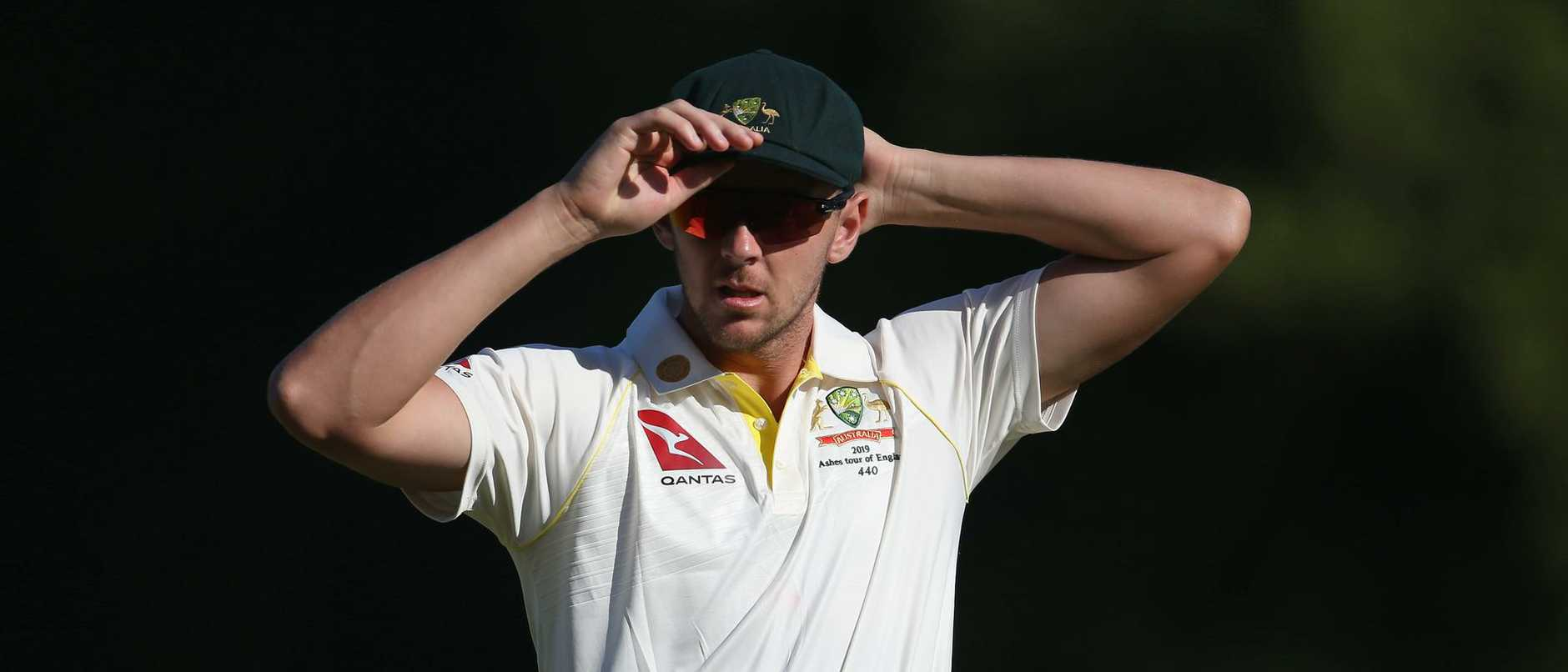 Josh Hazlewood concedes the competition is tough for a spot in the Australian bowling attack for the second Test. Picture: Steve Bardens/Getty Images