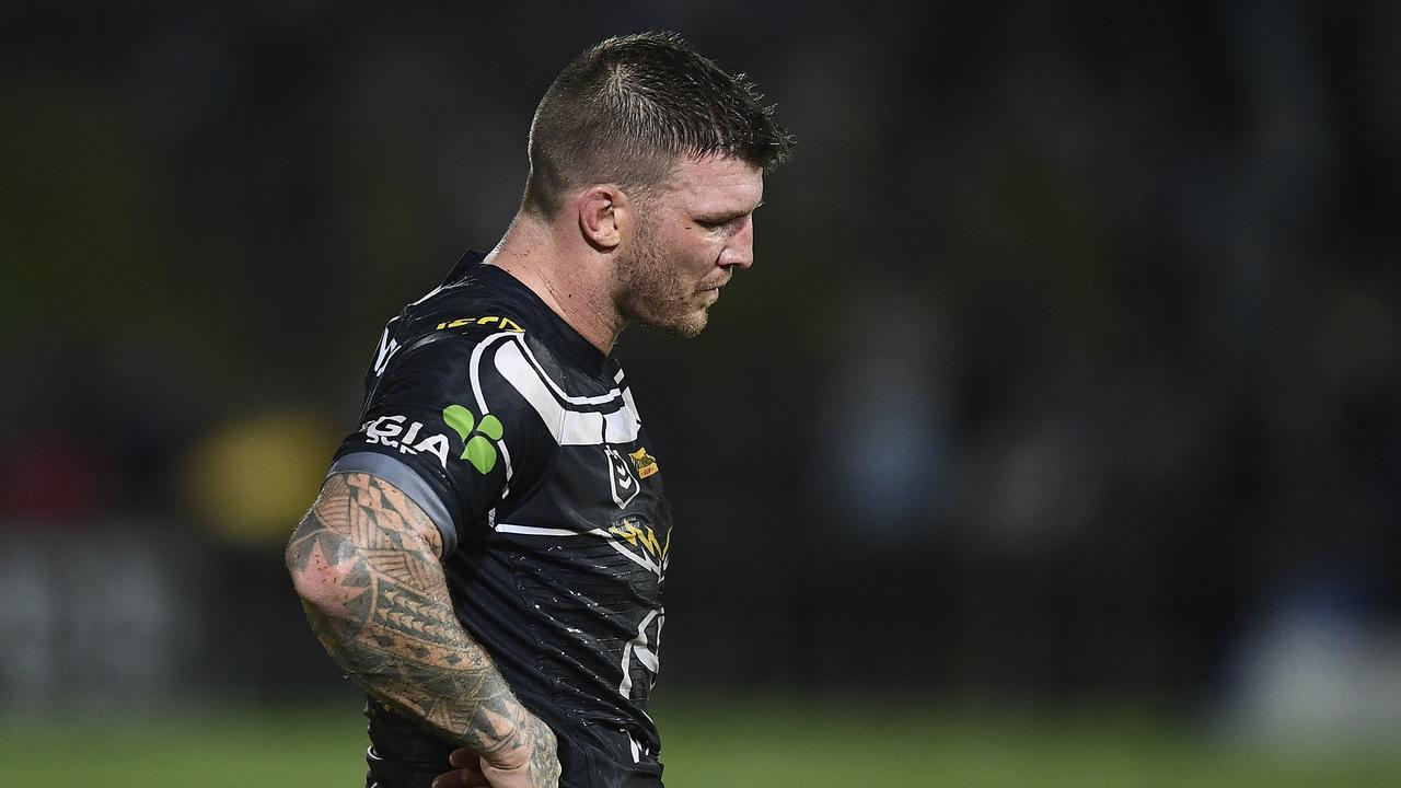 Cowboys prop Josh McGuire has a date with the NRL judiciary. Picture: Getty Images
