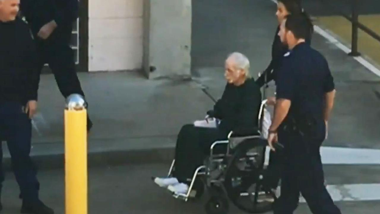 Ivan Milat during a stint in hospital in May. Picture: 7 News