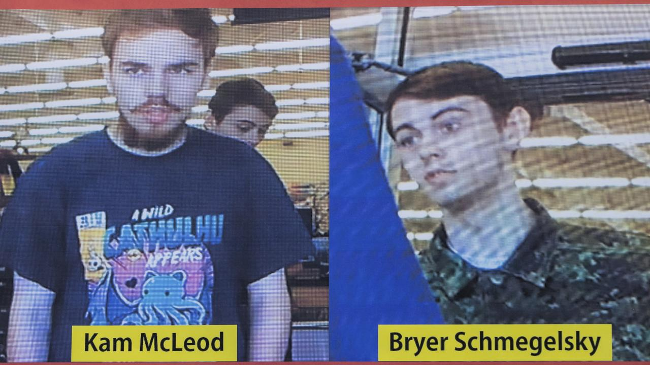 McLeod, 19, and Schmegelsky, 18, were the subjects of an intense manhunt across Canada in the wake of three murders.