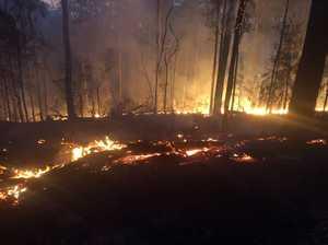 Fire at Chambigne