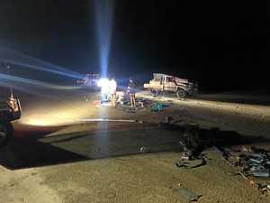 Injured man flown to Mackay