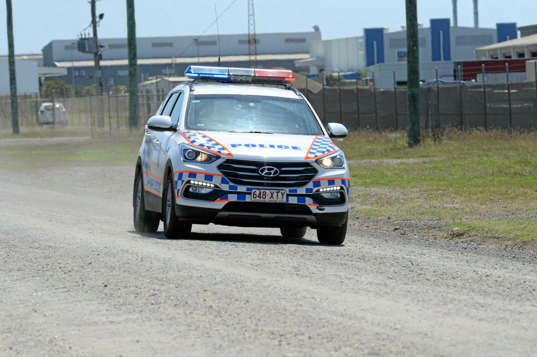 Police briefly followed an alleged gunman driving a stolen car in the Gympie region yesterday. FILE PHOTO.