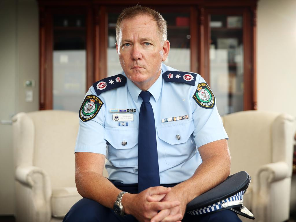 NSW Police Commissioner Mick Fuller. Picture: Sam Ruttyn