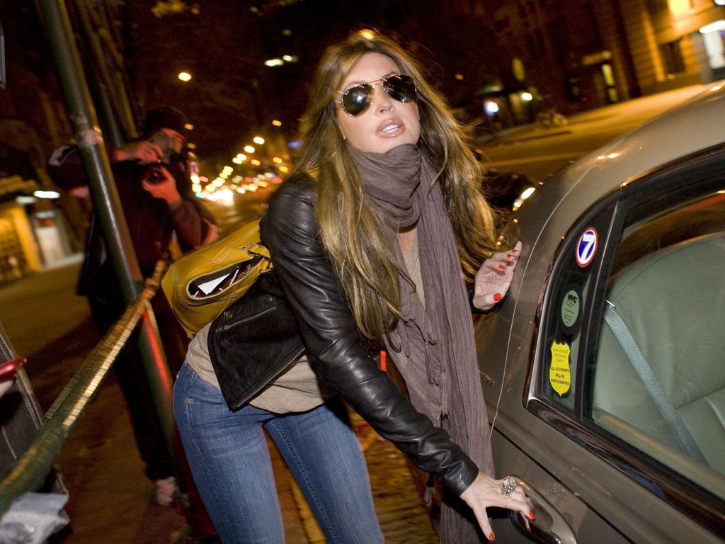 Rachel Uchitel. (AP Photo/Afton Almaraz, File)