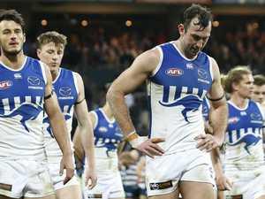Worst in 95 years: Kangaroos' awful AFL shocker
