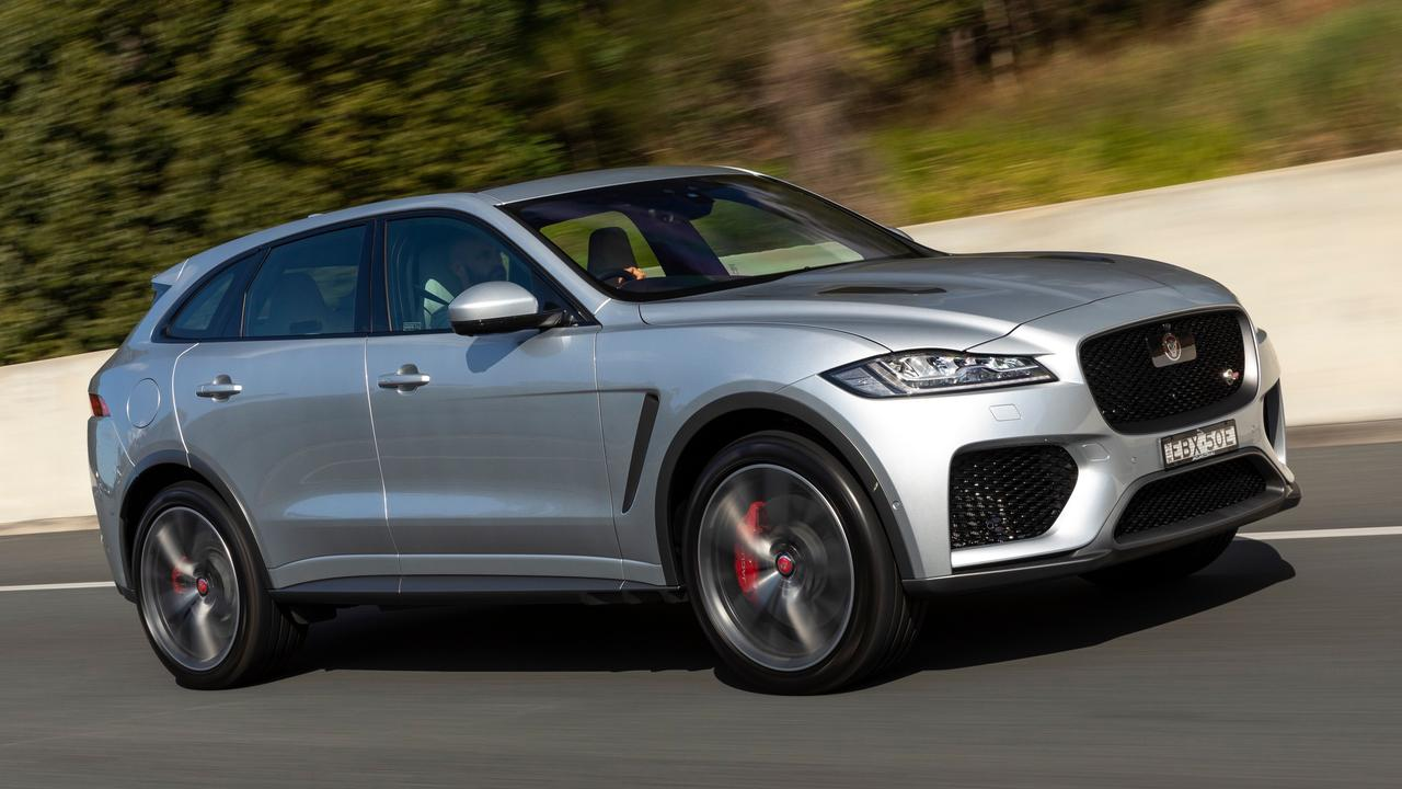 The F-Pace SVR is extremely fast for an SUV that weighs more than two tonnes.