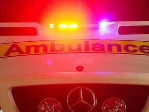 Man injured in two-vehicle crash