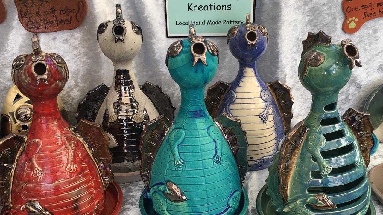Katrina's Clay Kreations designs.
