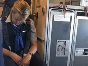 Drunk flight attendant arrested
