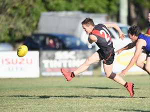 AFL PHOTO GALLERY: Bombers and ATW battle it out.