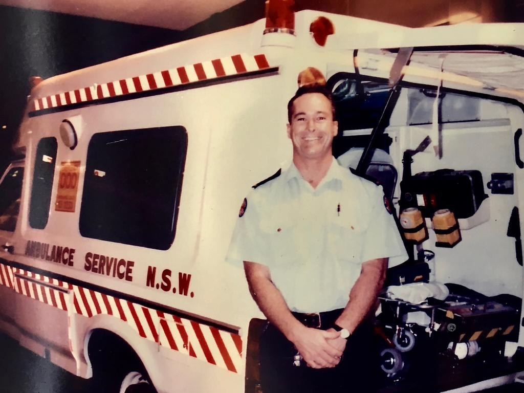 Paramedic John Dixon would often be beside Gilmour as they raced to calls at The Gap.