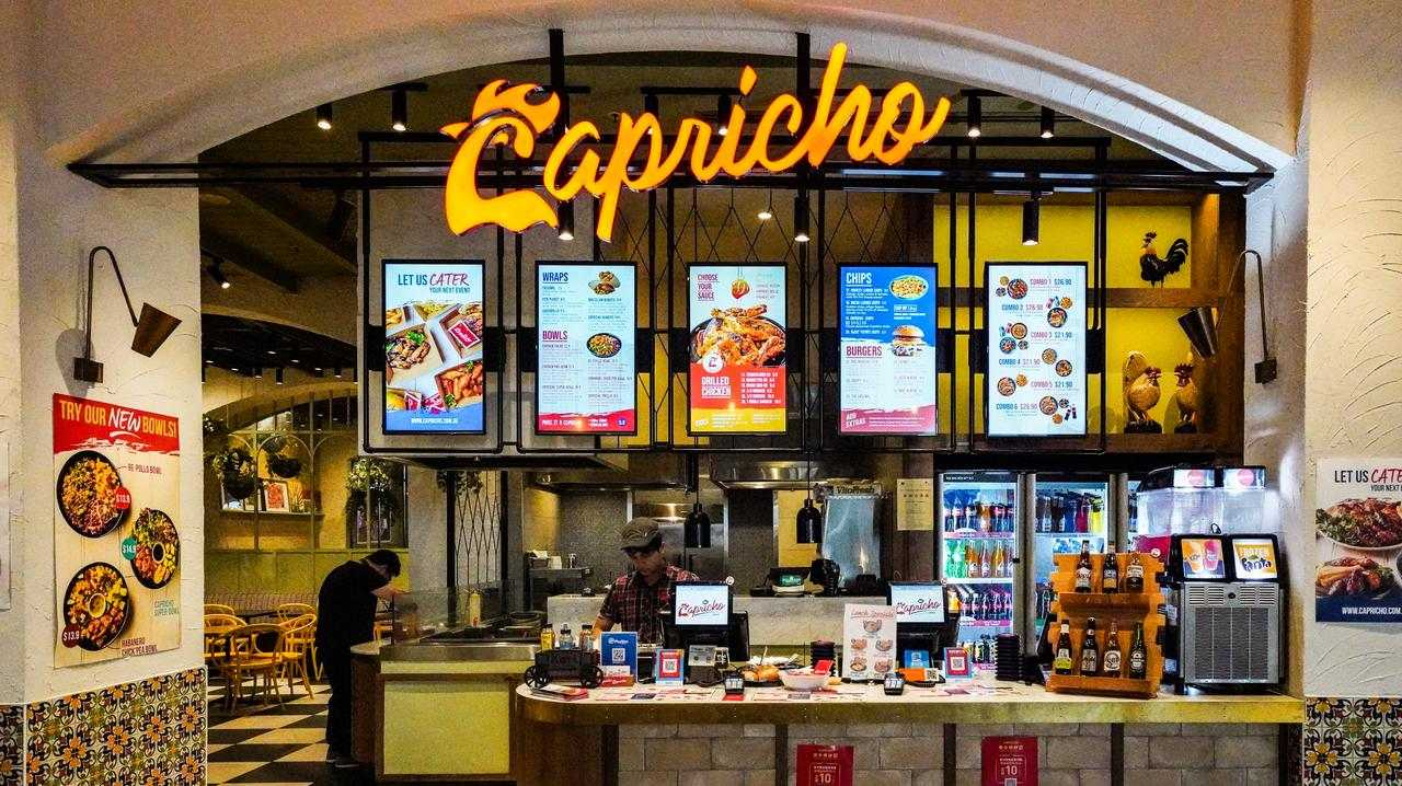 Former Nando's franchisee's new restaurant Capricho Grill.
