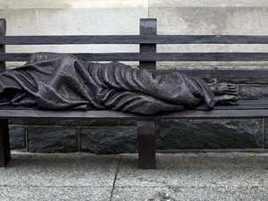Push for new $35k 'Homeless Jesus' statue