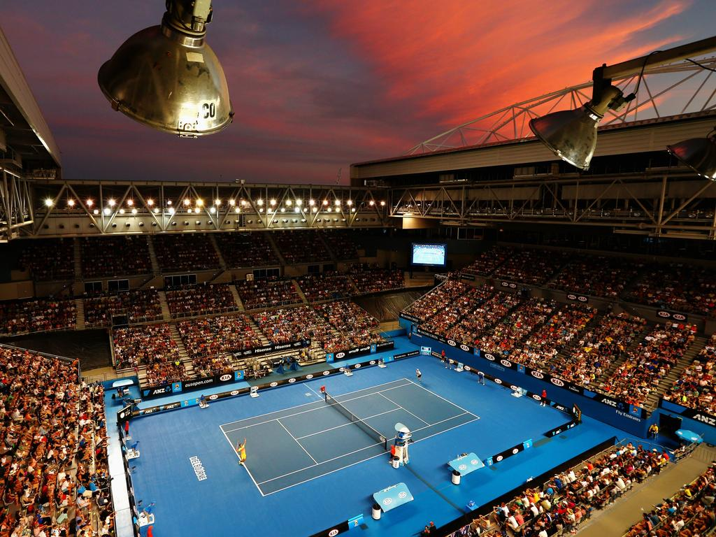 A ground pass to the Australian Open tennis tournament was gifted by an individual. Picture: Getty