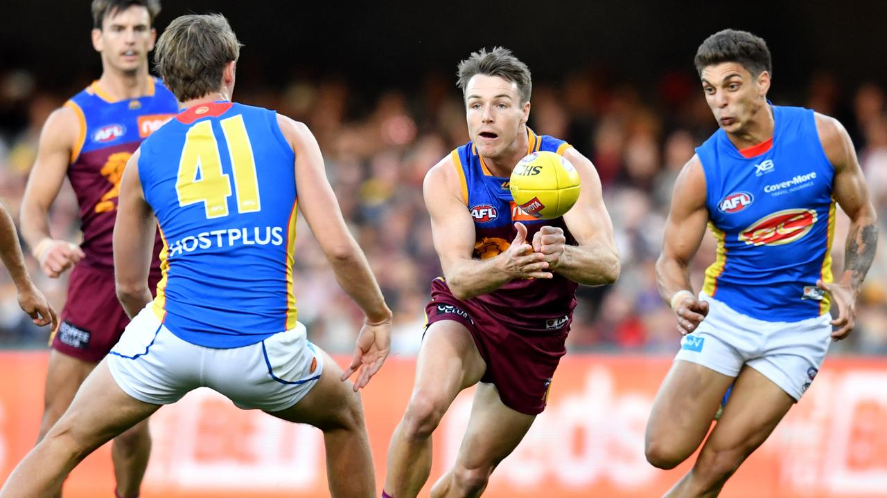 Lincoln McCarthy has buried his injury demons since arriving at Brisbane.