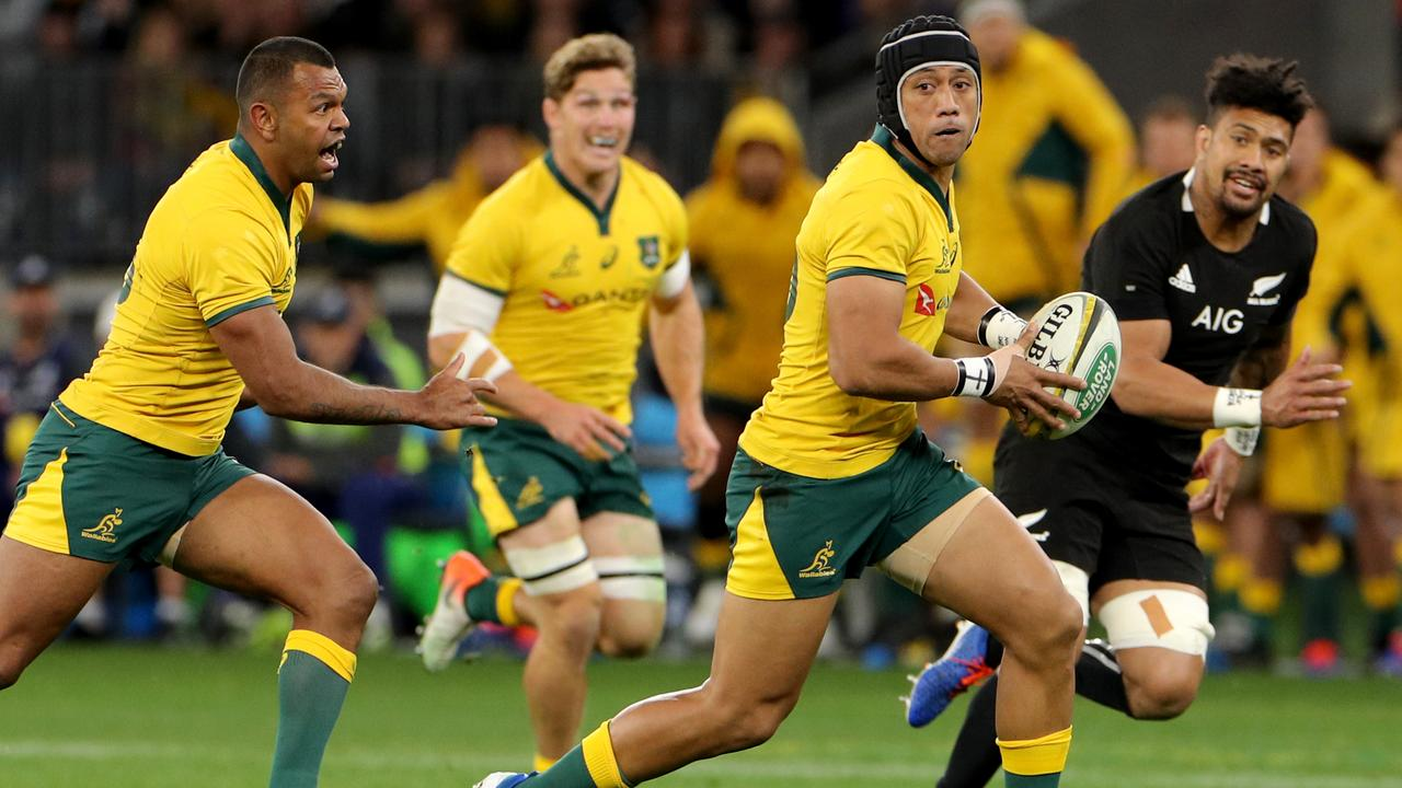 Christian Lealiifano had an excellent game against the All Blacks.
