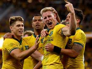 World reacts to Wallabies boilover