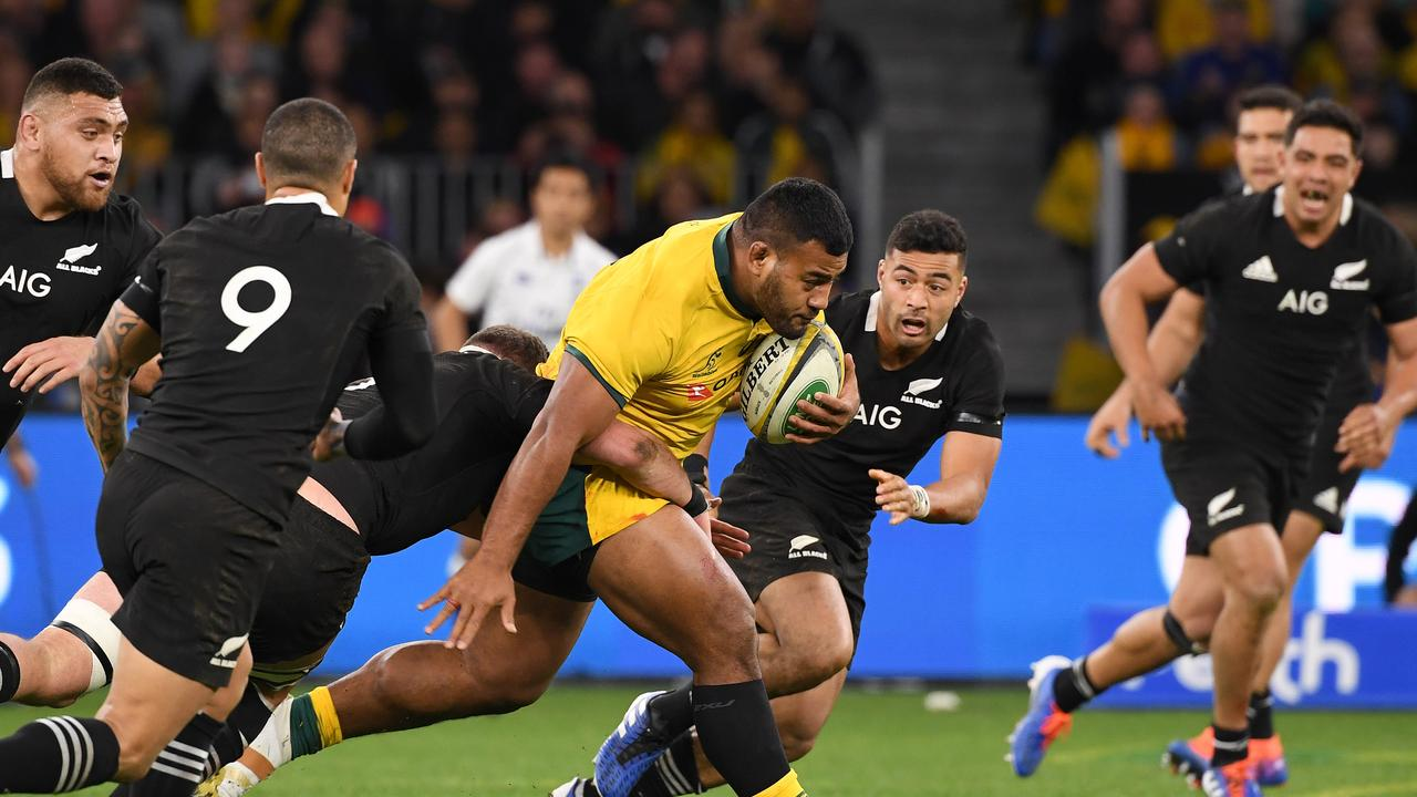 Taniela Tupou was immense off the bench against the All Blacks. Picture: AAP Image/Dave Hunt