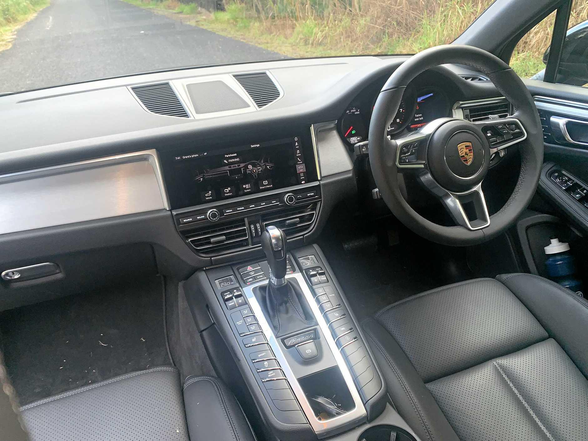 The 2019 Model Porsche Macan.