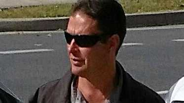 HOT TEMPER: Justin Saebar used his ute to ram a small Suzuki car ten times - an Ipswich court heard.