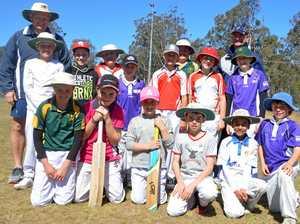 Region's junior cricketers master skills ahead of season