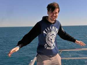 Spectacular sights for Bundy's whale season