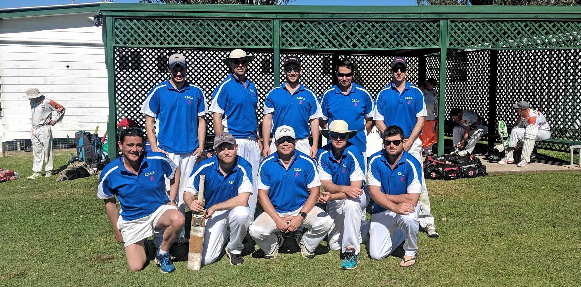 SECOND PLACE: Central Burnett Cricket Association XI in Maryborough.
