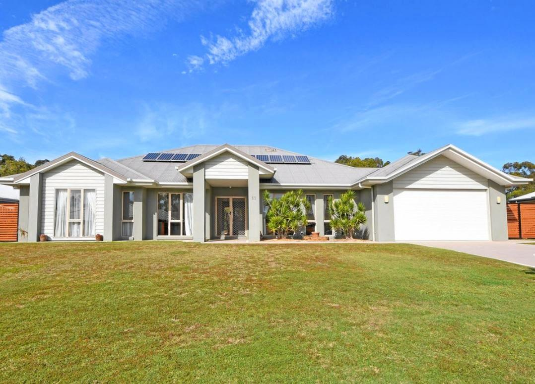 A WONDUNNA home on half an acre topped the Fraser Coast property market last week.The property at 598 Esplanade was last listed for