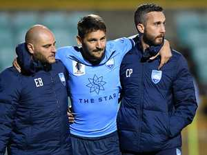 Ninkovic scare: 'Thought something was broken'